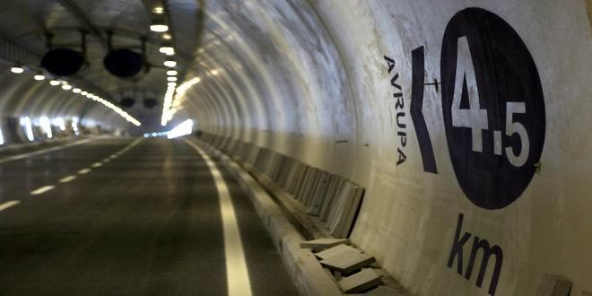 Avrasya Tüneli Yılın son çeyreğinde açılışı yapılan Avrasya Tüneli, Asya ile Avrupayı 100 dakikadan 15 dakikaya indiren tünel, toplam uzunluğu 14,5 km Ayrıca yayalar için de 15 bin metre yaya yolu yapıldı.
