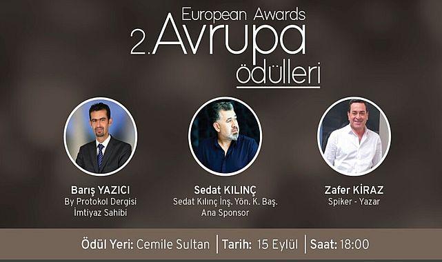 BY Protokol Dergisi 2. Avrupa Ödül töreni için geri sayım başladı!