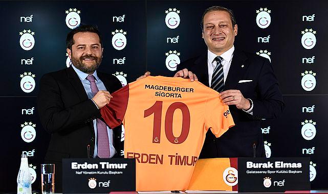 Galatasaray Stadının yeni sponsoru NEF oldu!