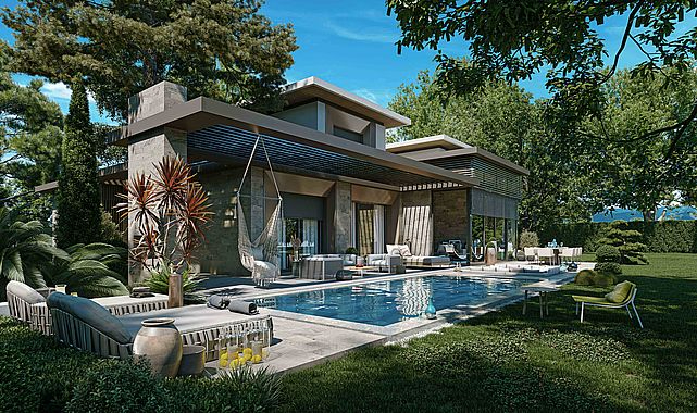 İzmir firması Folkart'tan İstanbul'a villa projesi: Folkart Nefes İstanbul